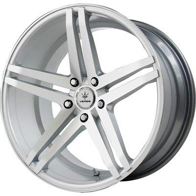 Verde Car Rims - Verde Custom Wheels Parallax Silver Wheel with Machined Face (22x10.5
