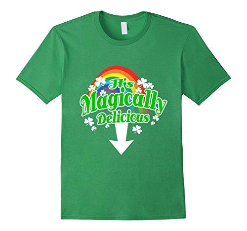 Irish St. Patrick's Day It's Magically Delicious Tshirt -