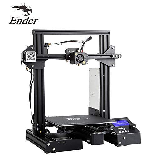 Creality Ender 3 Pro 3D Printer Prusa I3 DIY Kits with Resume Printing V Slot Creative 220x220x250mm for Home & School Use