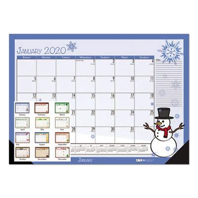 House of Doolittle 2018 Monthly Desk Pad Calendar, Seasonal, 22 x 17 inches, January - December (HOD139-18)