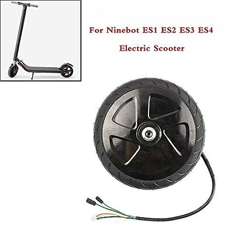 COLOR TREE Rueda de neumático del Motor del Scooter eléctrico con Motor para Ninebot Segway Scooter eléctrico ES1 ES2 ES3 ES4