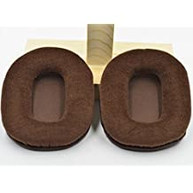 Replacement brown Velour Ear pads cushion for Audio technica ATH-M50 M50S M50X M20 M30 M35 M40 M40S M40X Headsets headphones 100X80MM