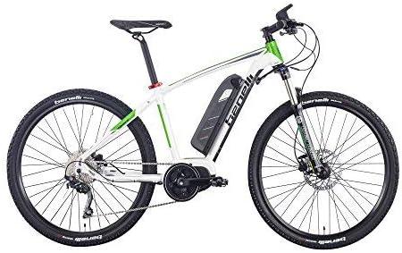 Benelli Bicicleta eléctrica TAGETE diseño Italiano 27.5 Pulgadas ...