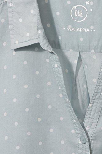 Via Appia Due, Blusa para Mujer aqua / ecru