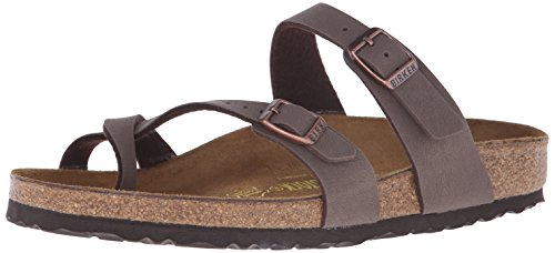 Birkenstock Women's Mayari Sandal,Mocha,39 EU/8-8.5 M US (Collection Lace Over)