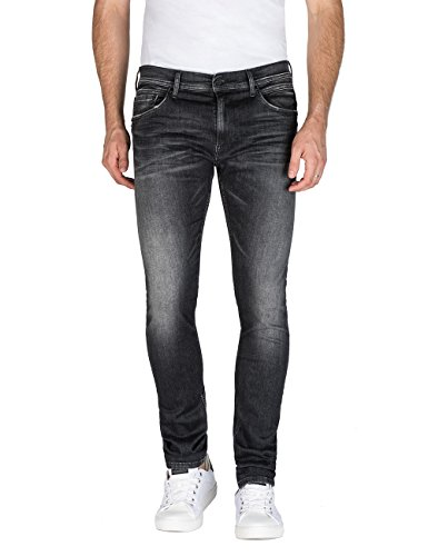 Replay Skinny Jondrill Nero Uomo Jeans black 9 rErwqHFvW