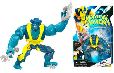 X-Men Wolverine Animated Action Figure Beast from Hasbro