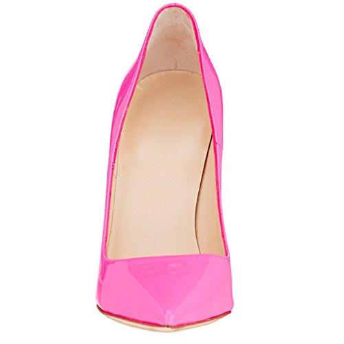 Pointu Edefs Sexy Femmes Chaussures Élégant Bout Escarpins Pink Soir Haut Talon Fête ZZ0nqr