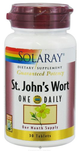 Solaray - Wort Un quotidiennes de St.John, 30 comprimés