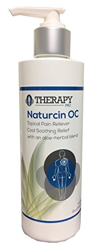 Naturcin OC Topical Pain Reliever – Cool Soothing Relief Therapy With Aloe-Herbal Blend - Best for Knee Joint Pain, Back & Neck Pain, Arthritis, Carpal Tunnel, Tennis Elbow, Sciatica, Sore Muscles