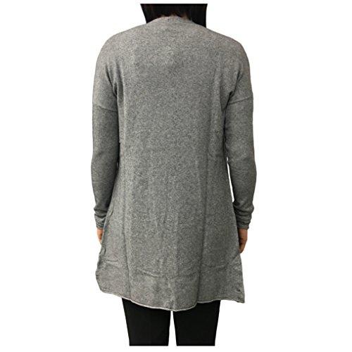 LA FEE MARABOUTEE cardigan donna angora grigio mod FA5267