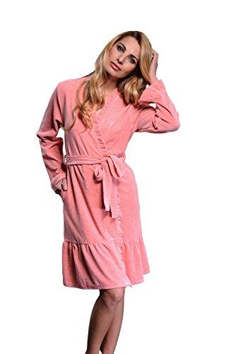dn-nightwear - Albornoz - para mujer naranja
