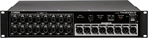 Yamaha Tio1608-D 16-Input, 8-Output Dante Stage Box for TF Series