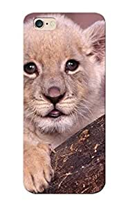 CGAptn-4163-xROKU Crooningrose Awesome Case Cover Compatible With Iphone 6 Plus - Animals Cubs Lions White Lions Baby Animals