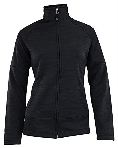 Womens Full Zip Cascade Jacket (Medium, Black)