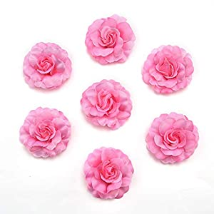 fake flowers heads Artificial Silk Mini Rose Flower Head Wedding Home Decoration DIY Garland Scrapbook Gift Box Craft Fake Flower 30pcs/lot 4.5cm 46