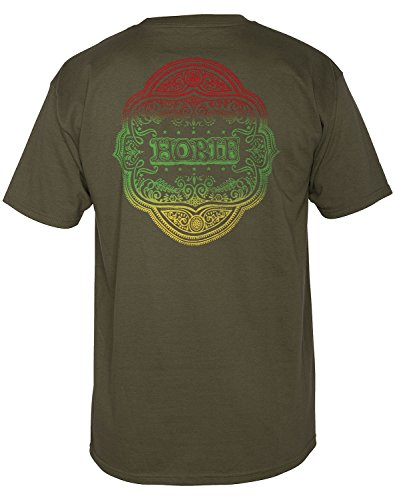 Coq Sportif Hobie Insignier Mens Militärgrön