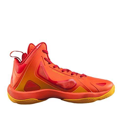 Piek Heren Uitdager High-top Basketbalschoenen Vlam Oranje / Rood