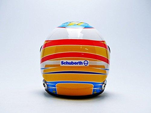 Mini Casco - 70120708 - Cascos F. Alonso - McLaren Honda 2015 - 1/2 - Amarillo / Azul / Rojo: Amazon.es: Juguetes y juegos