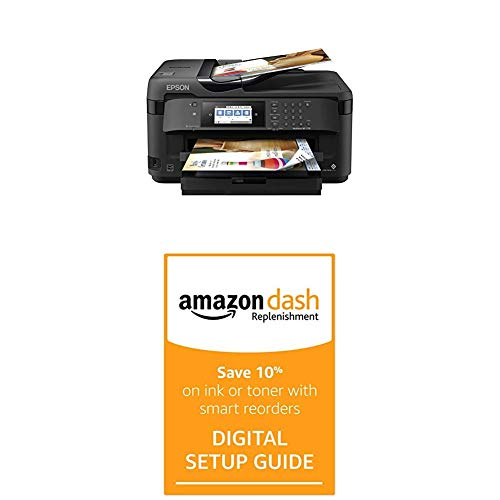 Workforce WF-7710 Wireless Wide-Format Color Inkjet Printer with Dash Replenishment Digital Setup Guide