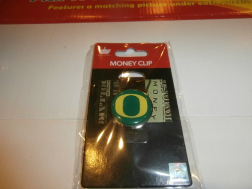 aminco NCAA Oregon Ducks Domed Money Clip (College Oregon Watches Ducks)