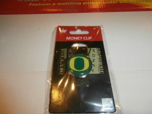 aminco NCAA Oregon Ducks Domed Money Clip