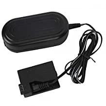 Nicye ACK-E8 Replacement AC Power Adapter Supply Kit AC Power Adapter+ Coupler for Canon EOS 550D EOS 600D