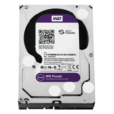 Western Digital Purple Surveillance Hard Drive - 1TB