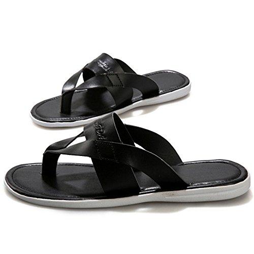 da spiaggia ZHANGRONG piatte Nero Bianca da Colore 5 Sandali estivi EU41 Scarpe Sandali Sandali CN42 8 dimensioni uomo Trigger UK7 11n8xzBwq