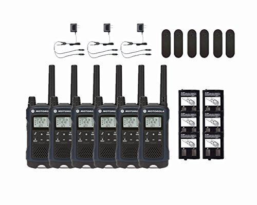 Motorola Talkabout T460 Two-Way Radios / Walkie Talkies 6-PACK