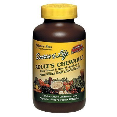 UPC 097467030862, Nature's Plus - Source Of Life Adult's Chewable 90