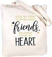 ElegantPark Friend Gifts Friendship Birthday Christmas Gifts for Friends Sister Tote Bag