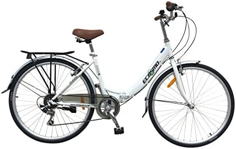 ECOSMO 26ALF08W - Bicicleta plegable: Amazon.es: Deportes y ...