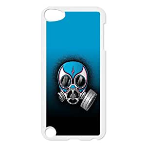 Gas Mask Vector 0 iPod TouchCase White yyfabc-451813