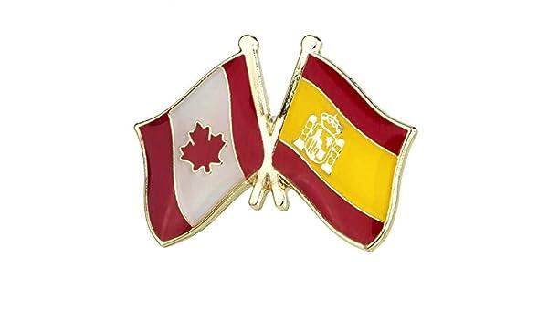 Pin de Traje de Bandera de Canada y España: Amazon.es: Ropa y ...
