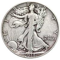 Various Mint Marks Walking Liberty Half Dollar XF/VF 90% Silver Extra Fine Half Dollar Very Fine Half Dollar Extremely Fine/Very Fine