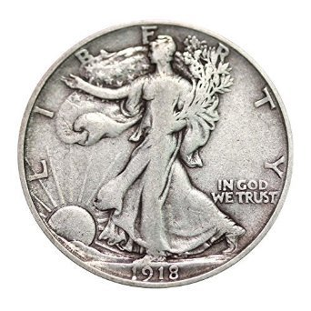Various Mint Marks Walking Liberty Half Dollar XF/VF 90% Silver Extra Fine Half Dollar Very Fine Half Dollar Extremely Fine/Very - Dollar Coin
