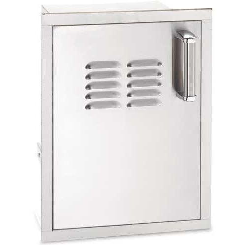 Fire Magic Echelon Flush Mount 14 Inch Left-hinged Single Access Door With Propane Tank Storage