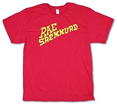 Rae Sremmurd Yellow Logo Red T Shirt