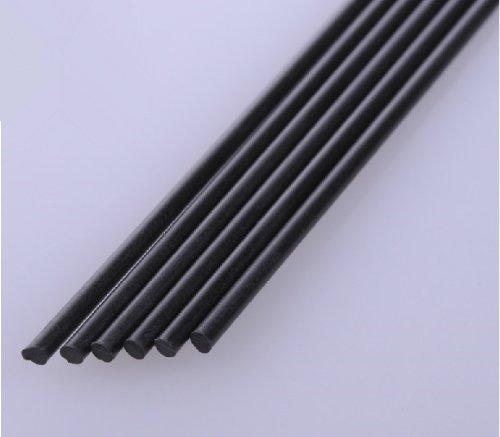 Autek 2x 3mm L400mm Carbon Fiber Rods for RC Plane