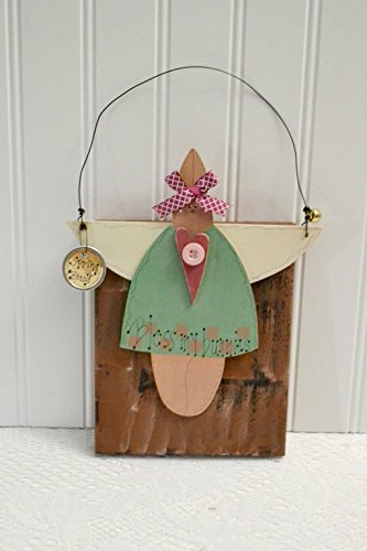 green-easter-bunny-decoration-holiday-decor-free-shipping