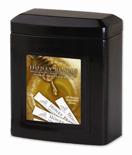 Honey Pearls, 40 Single Serving Sticks, White Lion Tea ()
