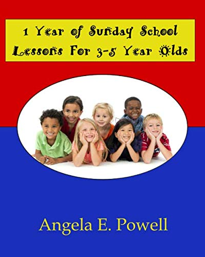 1 Year of Sunday School Lessons for 3-5 Year Olds (Best Sunday School Lessons)