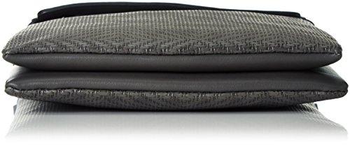 Sansibar Damen Umhängetaschen, 22x27x4 cm Grau (Grey)