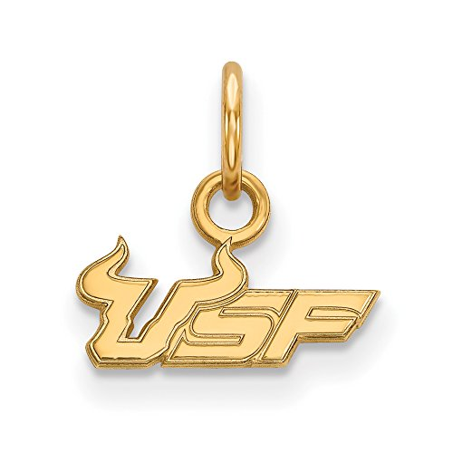 South Florida Extra Small (3/8 Inch) Pendant (14k Yellow Gold) ()