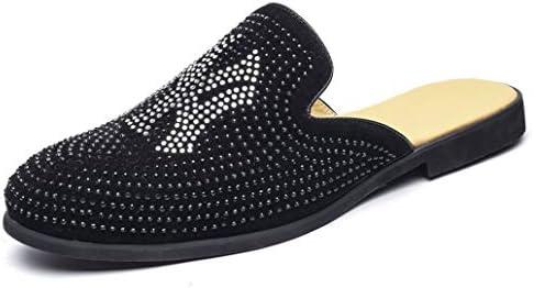 男性用 スリッパ メンズ サンダル 室内履き 社内履き ローファー ビジネス オフィスサンダル 事務所 かかとな 革靴 夏 通気 ドライビングシューズ 超軽量 柔軟性 紳士靴 滑りとめ 履きやすい サボサンダル 黒