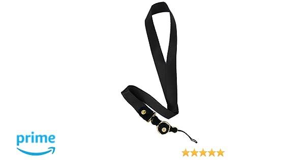 iPro Accessories® - Correa de cuello - Anilla abierta para teléfono móvil, cámara, unidad flash USB, llave, llavero, tarjeta de identificación