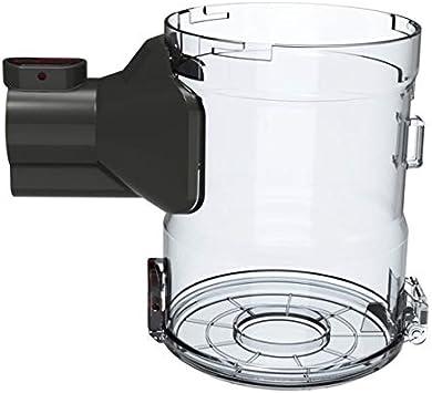 Piezas de Repuesto de la aspiradora Ajuste para DIBEA D18 Collector de Polvo Transparente Profesional Fit para DIBEA D18 Protable 2 en 1 aspiradora inalámbrica Accesorios de aspiradora
