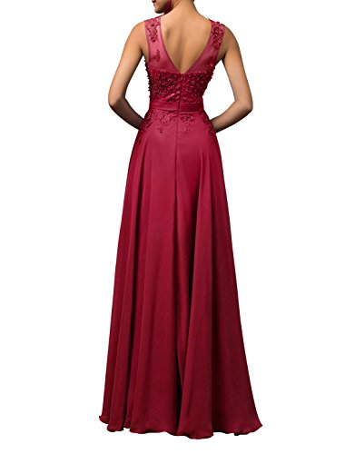 Gowns Neck TalinaDress Bridesmaid Evening Prom Dresses E004LF Blush Women Long Sheer Yrq4wfY