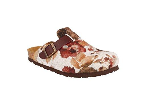 JOE N JOYCE Slippers Clogs Shoes Felt Narrow - Womens Autumn Softbedded
